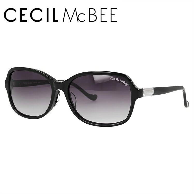 セシルマクビー サングラス アジアンフィット CECIL McBEE CMS 1046-1 58サイズ ウェリントン レディース
