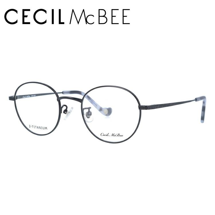 セシルマクビー メガネフレーム 伊達メガネ CECIL McBEE CMF 3031-1 47サイズ ラウンド レディース