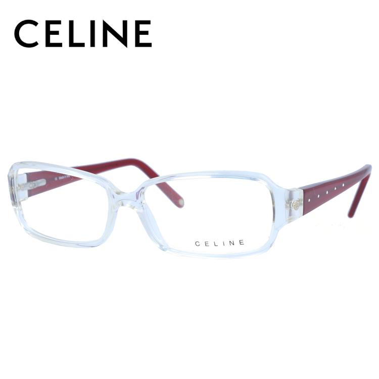 【選べる無料レンズ → PCレンズ・伊達レンズ・老眼鏡レンズ】 セリーヌ メガネフレーム ブルーライトカットフレーム CELINE VC1581S 55サイズ 0P79 レディース UVカット 【ケース付き】