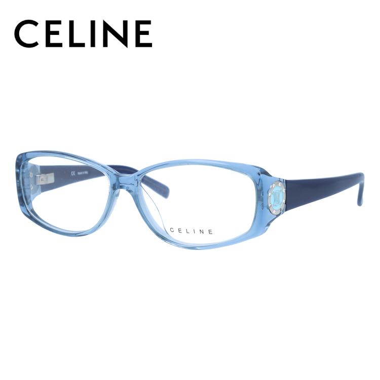 【選べる無料レンズ → PCレンズ・伊達レンズ・老眼鏡レンズ】 セリーヌ メガネフレーム ブルーライトカットフレーム CELINE VC1603S 55サイズ 097D レディース UVカット 【ケース付き】