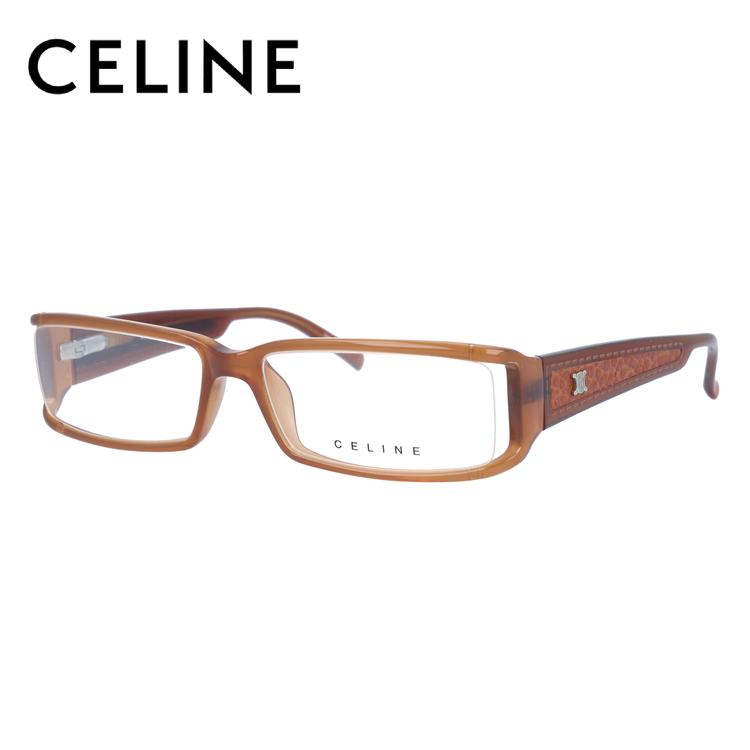 【選べる無料レンズ → PCレンズ・伊達レンズ・老眼鏡レンズ】 セリーヌ メガネフレーム ブルーライトカットフレーム CELINE VC1642M 55サイズ 0T91 レディース UVカット 【ケース付き】