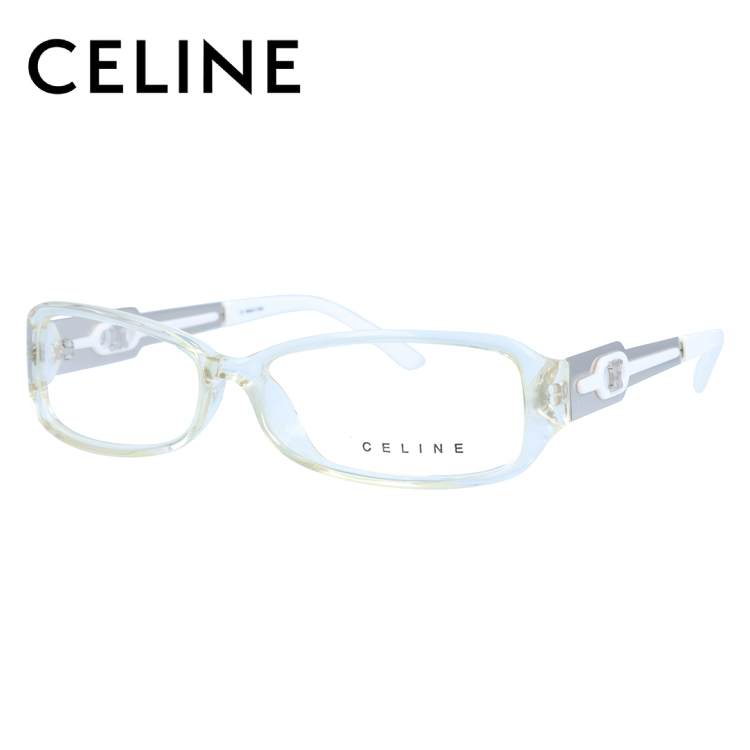 【選べる無料レンズ → PCレンズ・伊達レンズ・老眼鏡レンズ】 セリーヌ メガネフレーム ブルーライトカットフレーム CELINE VC1669M 54サイズ 0P79 レディース UVカット 【ケース付き】