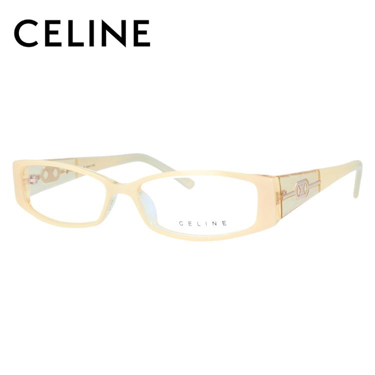 【選べる無料レンズ → PCレンズ・伊達レンズ・老眼鏡レンズ】 セリーヌ メガネフレーム ブルーライトカットフレーム CELINE VC1674M 53サイズ 09YL レディース UVカット 【ケース付き】