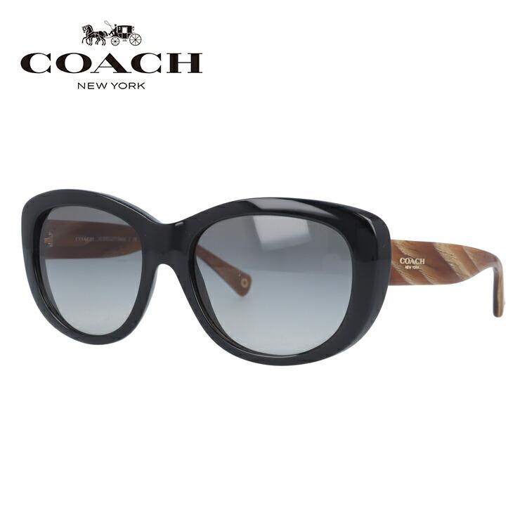 コーチ サングラス COACH HC8083 519311 55 ブラック/グレーグラデーション L071 Darcy レディース 国内正規品 UVカット