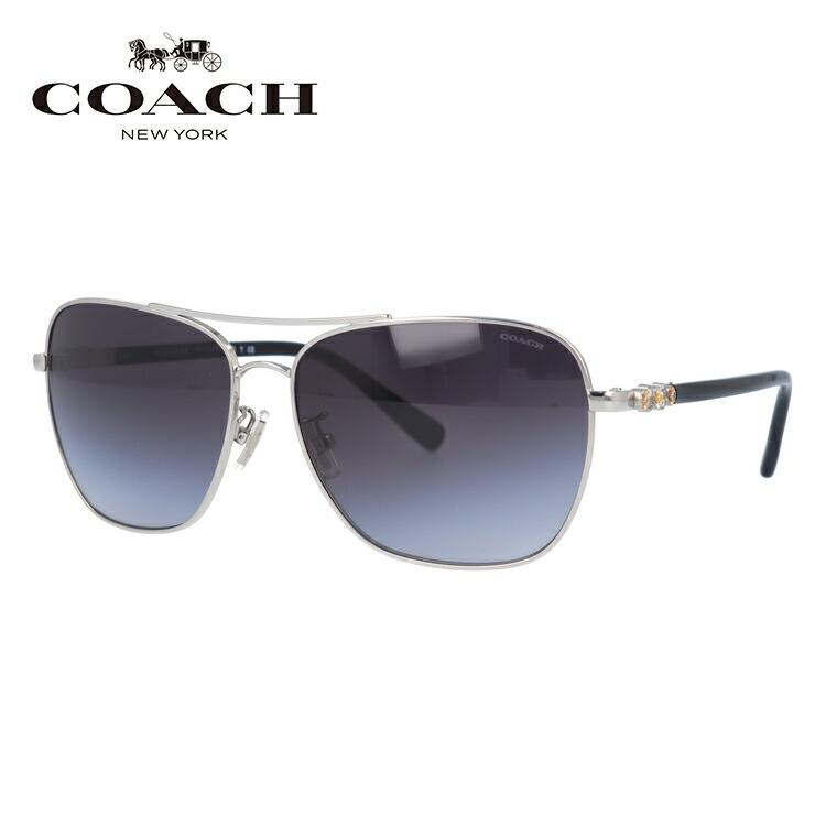 コーチ サングラス COACH HC7073B 901511 59サイズ 国内正規品 ティアドロップ ユニセックス メンズ レディース