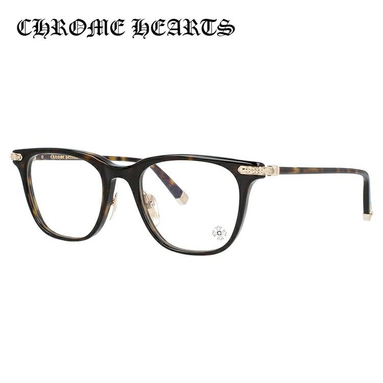 【選べる無料レンズ → PCレンズ・伊達レンズ・老眼鏡レンズ・カラーレンズ】 クロムハーツ メガネフレーム CHROME HEARTS DARLIN' MDT 52サイズ ウェリントン ユニセックス メンズ レディース