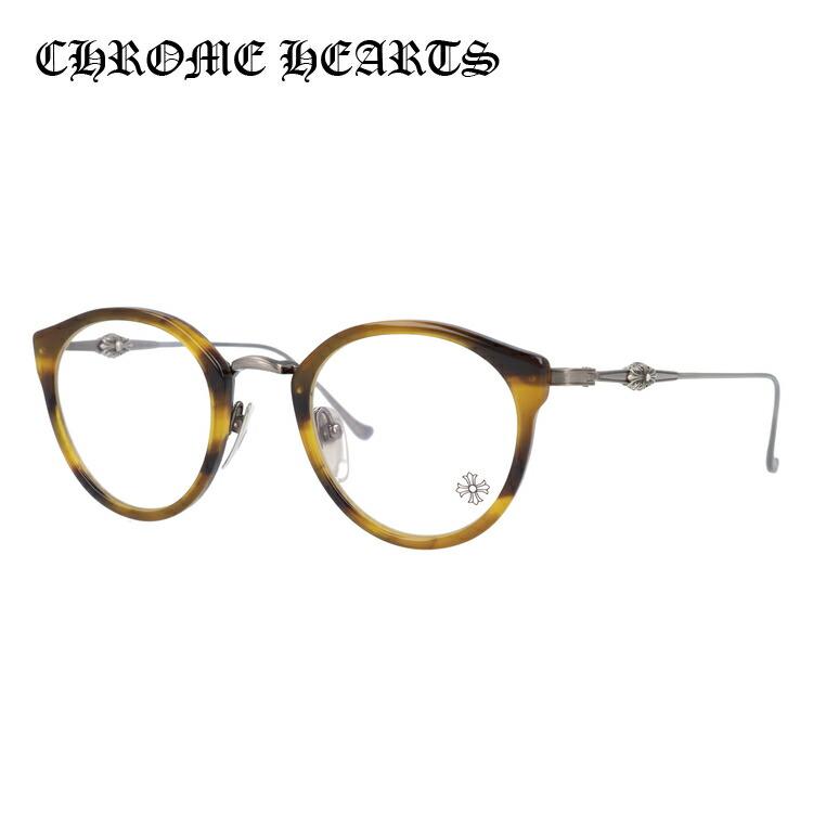 【選べる無料レンズ → PCレンズ・伊達レンズ・老眼鏡レンズ・カラーレンズ】 クロムハーツ メガネフレーム CHROME HEARTS DIG BIG BOS/AS 45サイズ ボストン ユニセックス メンズ レディース