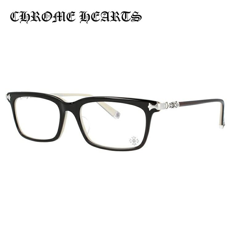 【選べる無料レンズ → PCレンズ・伊達レンズ・老眼鏡レンズ・カラーレンズ】 クロムハーツ メガネフレーム アジアンフィット CHROME HEARTS FUN HATCH-A BT 54サイズ スクエア ユニセックス メンズ レディース