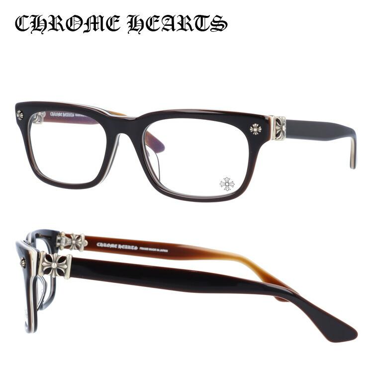 【選べる無料レンズ → PCレンズ・伊達レンズ・老眼鏡レンズ】 クロムハーツ メガネフレーム レギュラーフィット CHROME HEARTS VAGILANTE BRBBR 54サイズ スクエア ユニセックス メンズ レディース