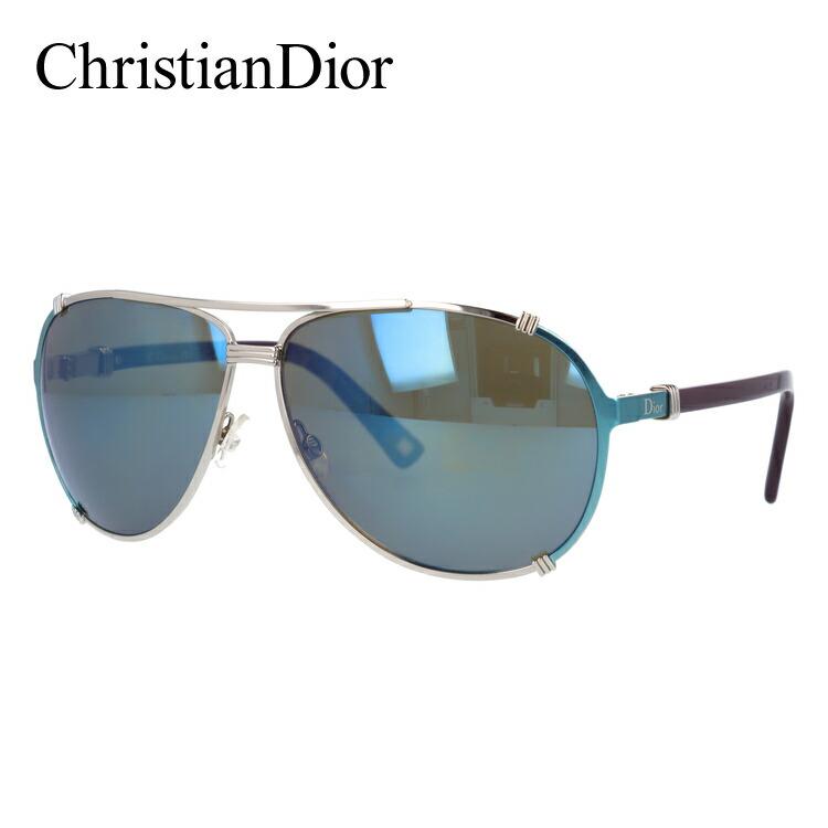 【訳あり】クリスチャン・ディオール サングラス ChristianDior DIOR CHICAGO/2 1QW/3U Palladium Turquoise Plum/Khaki Blue Mirror ミラーレンズ メンズ レディース UVカット 新品