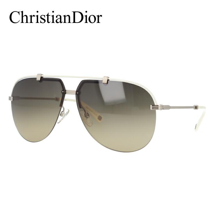 クリスチャン・ディオール サングラス Christian Dior DIOR CROISETTE4 DYJ/ED 62 シルバー/アイボリー ノーズパッド調節可能 レディース UVカット 新品