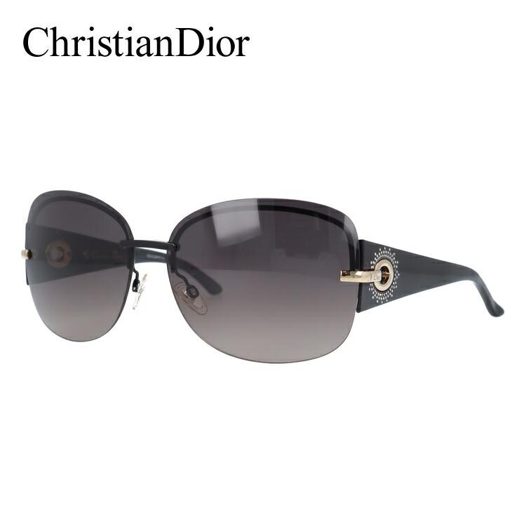 クリスチャン・ディオール サングラス Christian Dior DIOR PRECIEUSEF KH8/XQ 64 ブラック ノーズパッド調節可能 レディース UVカット