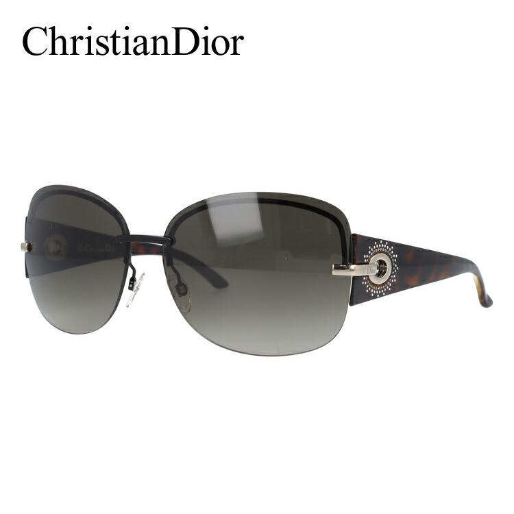 クリスチャン・ディオール サングラス Christian Dior DIOR PRECIEUSEF KGK/HA 64 ブラック/ハバナ ノーズパッド調節可能 レディース UVカット