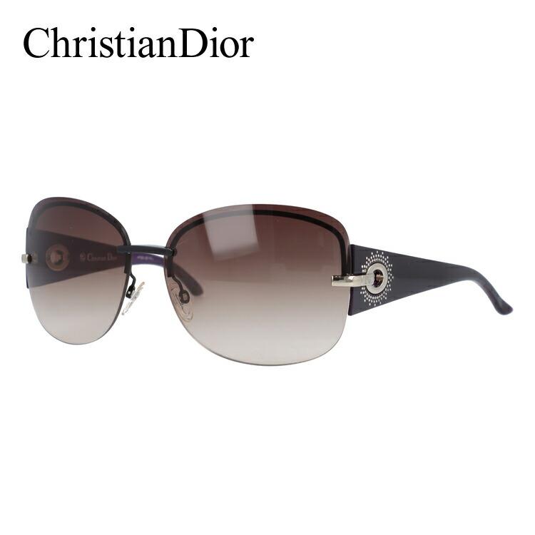 クリスチャン・ディオール サングラス Christian Dior DIOR PRECIEUSEF KGH/QX 64 ブラック/パープル ノーズパッド調節可能 レディース UVカット
