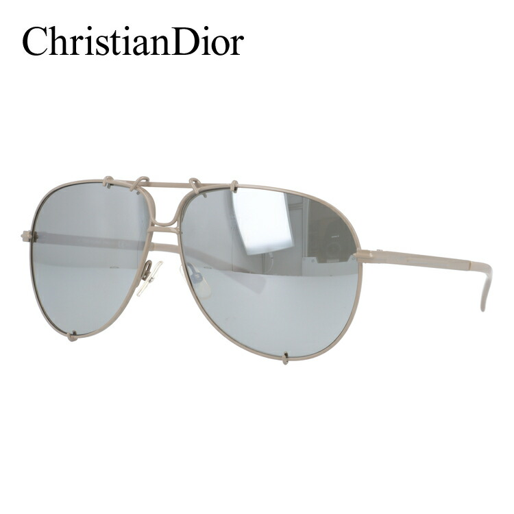 クリスチャン・ディオール サングラス Christian Dior ディオール オム DIOR 0175S 5T2/SS 61 ベージュ DIOR HOMME メンズ UVカット