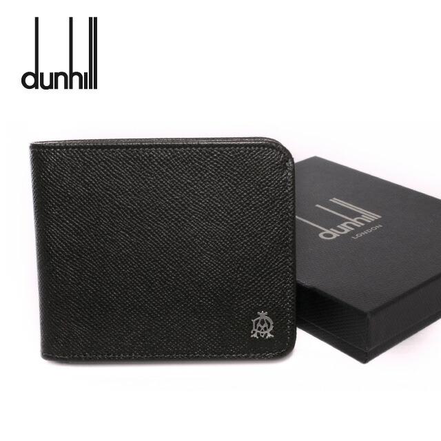 ダンヒル 折り財布 dunhill L2M131Z BOURDON(ボードン) ダークグレー (小銭入れ無) 折り財布 折り財布 ウォレット メンズ 革 レザー