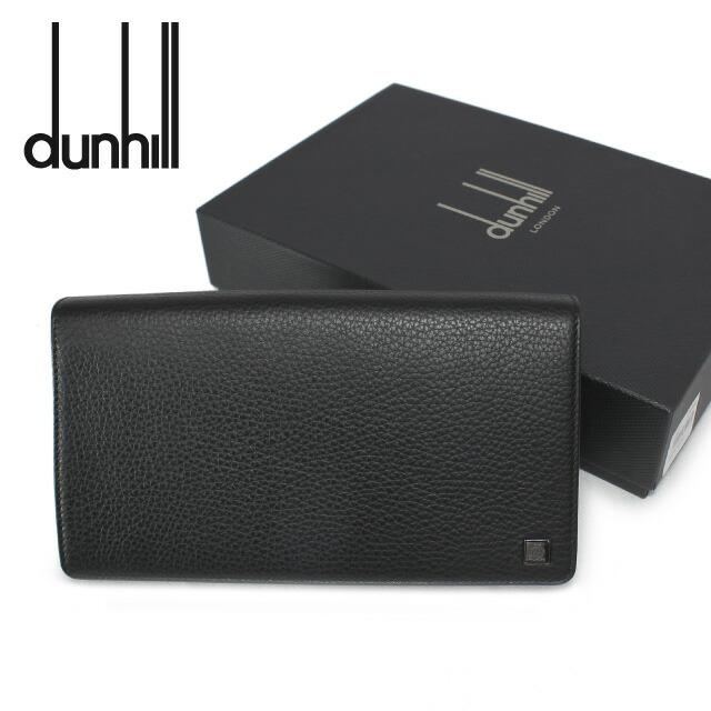 ダンヒル 長財布 dunhill オーガナイザー L2R445A YORK(ヨーク) ブラック (小銭入れ有) 長財布 トラベルコンパニオン ウォレット メンズ 革 レザー