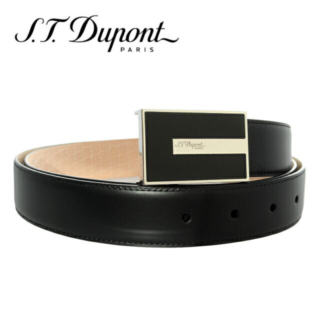 S.T.Dupont デュポン ベルト ヘリテッジ ブラック 051185