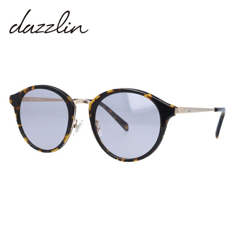 ダズリン サングラス dazzlin DZS 3536-2 50サイズ ボストン レディース