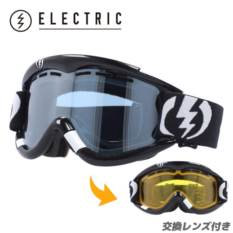 ELECTRIC エレクトリック ゴーグル スノーゴーグル EG0112100 BLSC EG1 Gloss Black Blue/Silver Chrome スキー スノーボード ウィンタースポーツ ボーナスレンズ付き GOGGLE UVカット