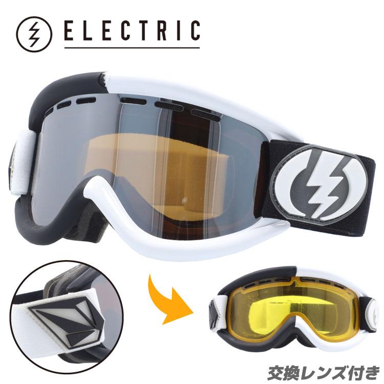 ELECTRIC エレクトリック ゴーグル スノーゴーグル EG0212900 EG.5 V.Co-Lab Bronze / Silver Chrome スキー スノーボード ボーナスレンズ付き GOGGLE メンズ レディース UVカット