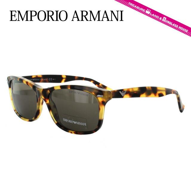 エンポリオアルマーニ サングラス EMPORIO ARMANI EA9859S 00F/EJ トータス/ブラック メンズ レディース UVカット