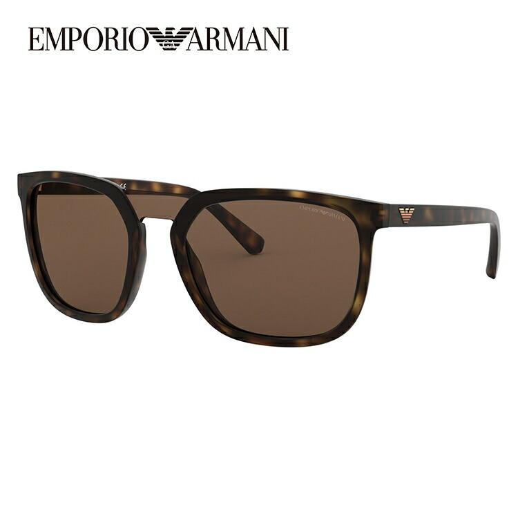 エンポリオアルマーニ サングラス 2018年新作 アジアンフィット EMPORIO ARMANI EA4123F 508973 58サイズ 国内正規品 スクエア ユニセックス メンズ レディース