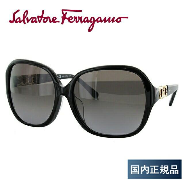 サルヴァトーレ フェラガモ サングラス Salvatore Ferragamo 国内正規品 SF735SA 001 59サイズ アジアンフィット メンズ レディース