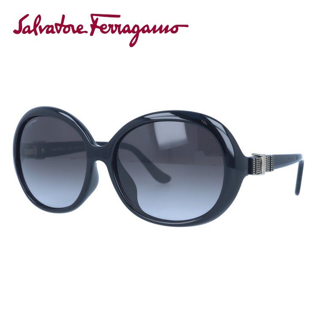 サルヴァトーレ フェラガモ サングラス Salvatore Ferragamo 国内正規品 SF738SA 001 58サイズ アジアンフィット メンズ レディース