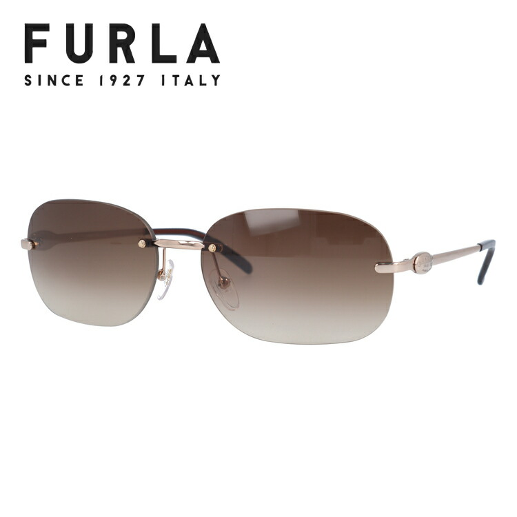 フルラ サングラス FURLA SU4154-A39 ライトブラウン/ブラウングラデーション レディース 国内正規品 UVカット