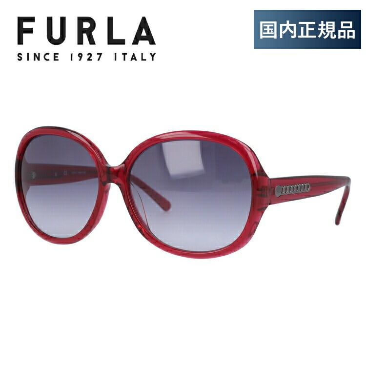 フルラ FURLA サングラス 国内正規品 SU4742G 03GB 61サイズ アジアンフィット CASSIA レディース