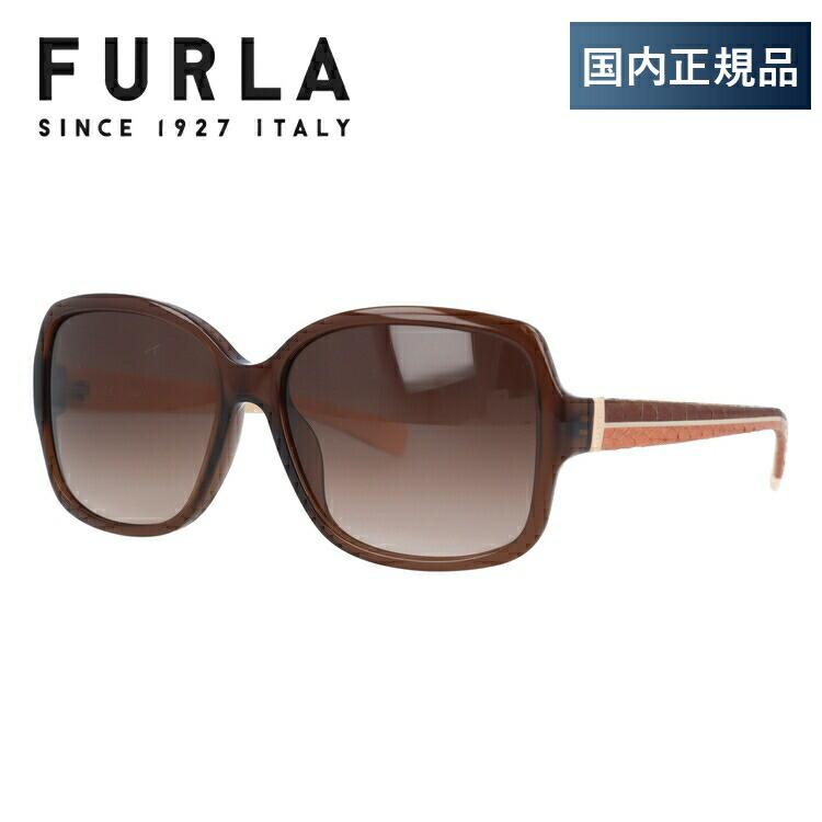 レディース ユニセックス オーバル 国内正規品 フルラ サングラス 56サイズ メンズ アジアンフィット FURLA SFU013J 0700