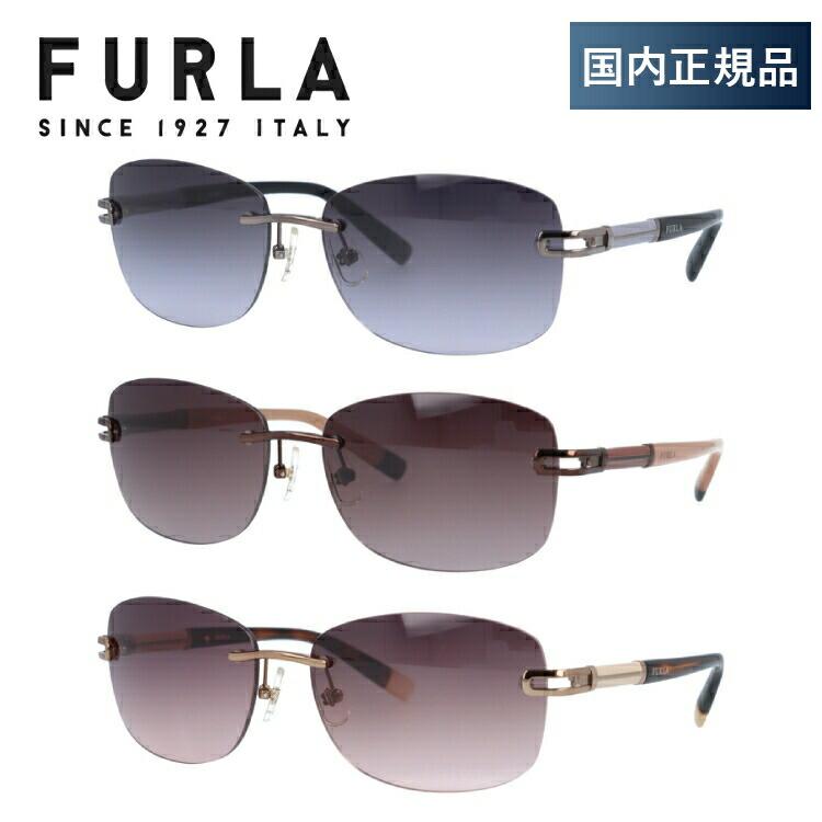 フルラ サングラス FURLA SU4312J 0568/0300/0A75/08FE 59 アジアンフィット メンズ レディース 国内正規品 UVカット