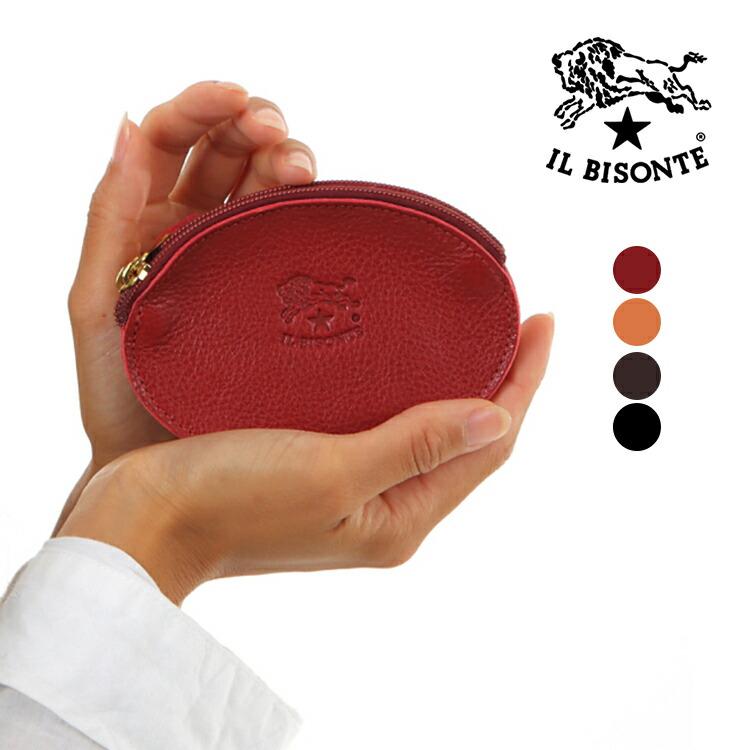 イルビゾンテ 小銭入れ IL BISONTE C0889 P 全4カラー 牛革 ユニセックス メンズ レディース