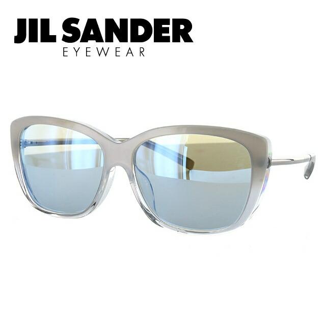 ジルサンダー JIL SANDER サングラス J3003-M 60サイズ アジアンフィット ミラーレンズ レディース