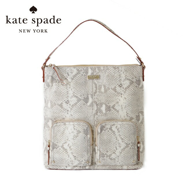 ケイトスペード kate spade ハンドバッグ PXRU1712-026 LACASITA SNAKE ホワイト KATESPADE ケイト スペード レディース