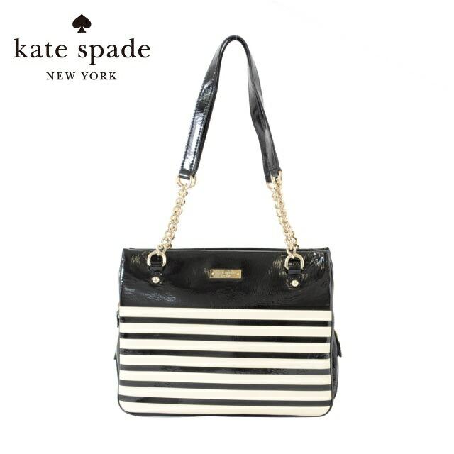 ケイトスペード kate spade ハンドバッグ PXRU2883-017 SQUARE ZIPPERED DARCY BLACK/CREAM/CREAM/BLACK