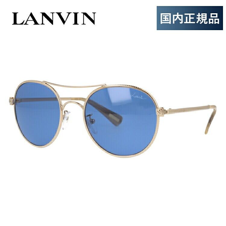 ランバン パリス サングラス LANVIN PARIS SLN067 300B 53サイズ 国内正規品 ラウンド(ダブルブリッジ) ユニセックス メンズ レディース