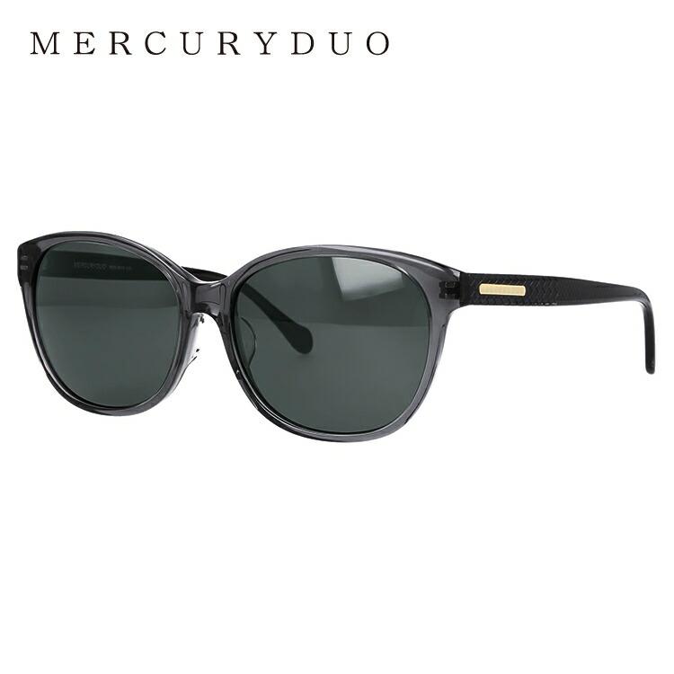 マーキュリーデュオ サングラス アジアンフィット MERCURYDUO MDS 9019-3 57サイズ フォックス レディース