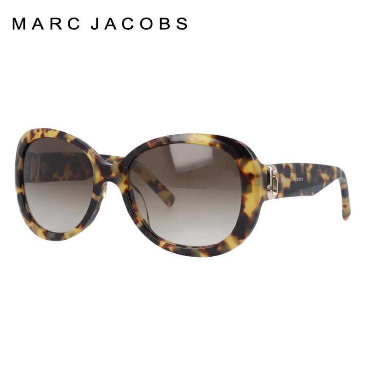 【訳あり】マークジェイコブス サングラス レギュラーフィット MARC JACOBS MARC111/S 02V/CC 56サイズ 国内正規品 オーバル レディース 新品