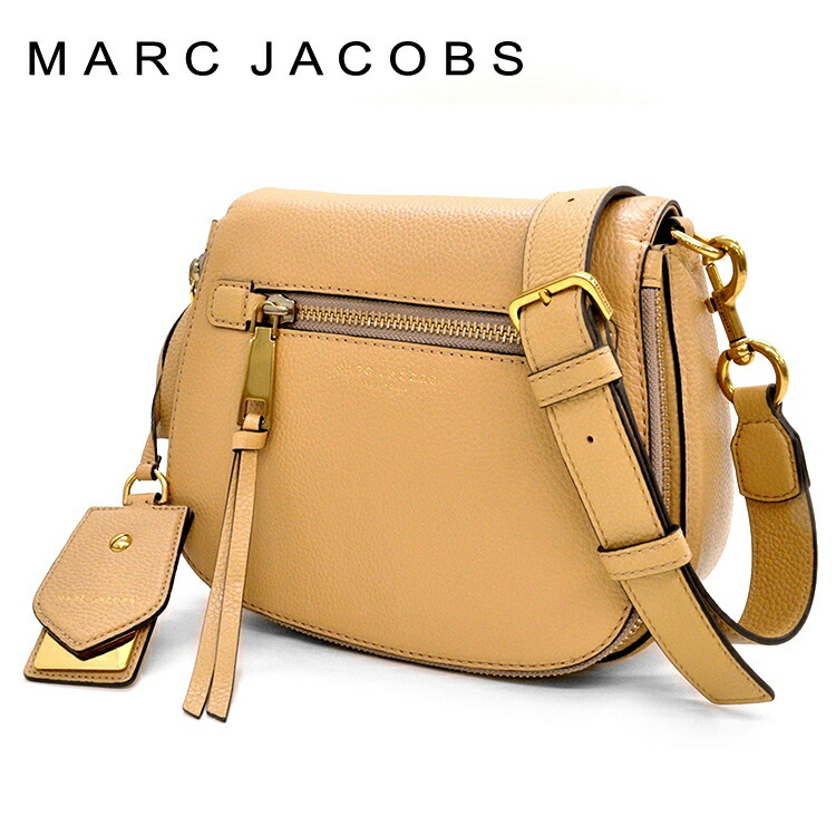 マークジェイコブス MARC JACOBS ショルダーバッグ RECRUIT リクルート M0008137-297 GOLDEN BEIGE(ミディアムベージュ)
