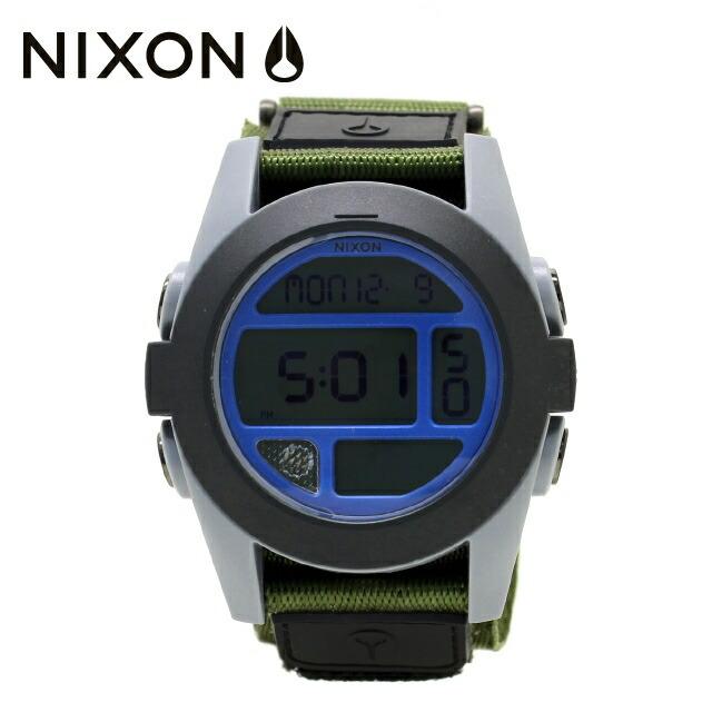 国内正規品 ニクソン NIXON 腕時計 NA4891376-00 NIXON BAJA: SURPLUS/GRAY/BLUE