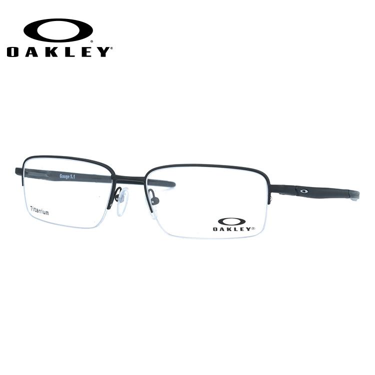 【選べる無料レンズ → PCレンズ・伊達レンズ・老眼鏡レンズ】 国内正規品 オークリー メガネフレーム ゲージ 5.1 OAKLEY GAUGE 5.1 OX5125-0154 54サイズ スクエア ユニセックス メンズ レディース