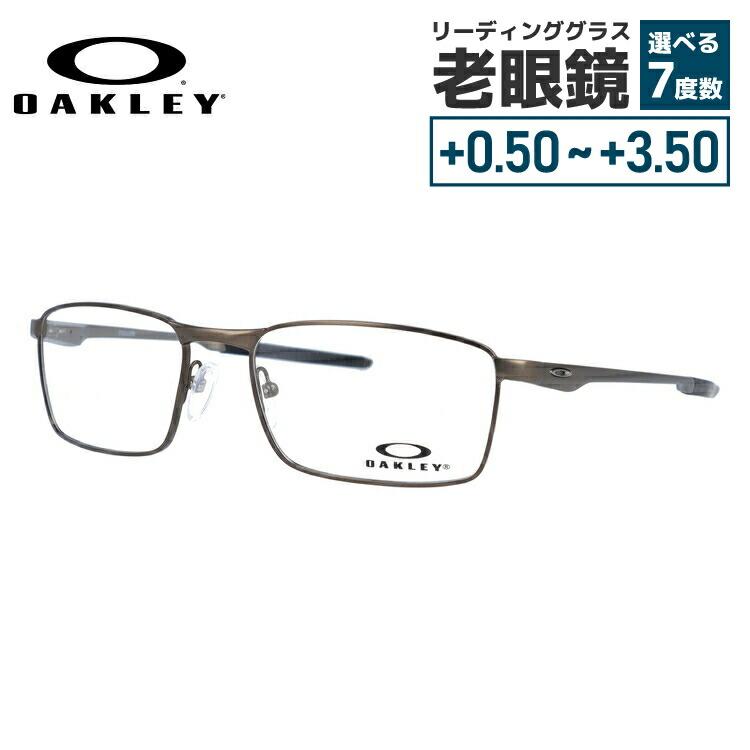 【選べる無料レンズ → PCレンズ・伊達レンズ・老眼鏡レンズ・カラーレンズ】 国内正規品 オークリー メガネフレーム フラー OAKLEY FULLER OX3227-0253 53サイズ スクエア ユニセックス メンズ レディース