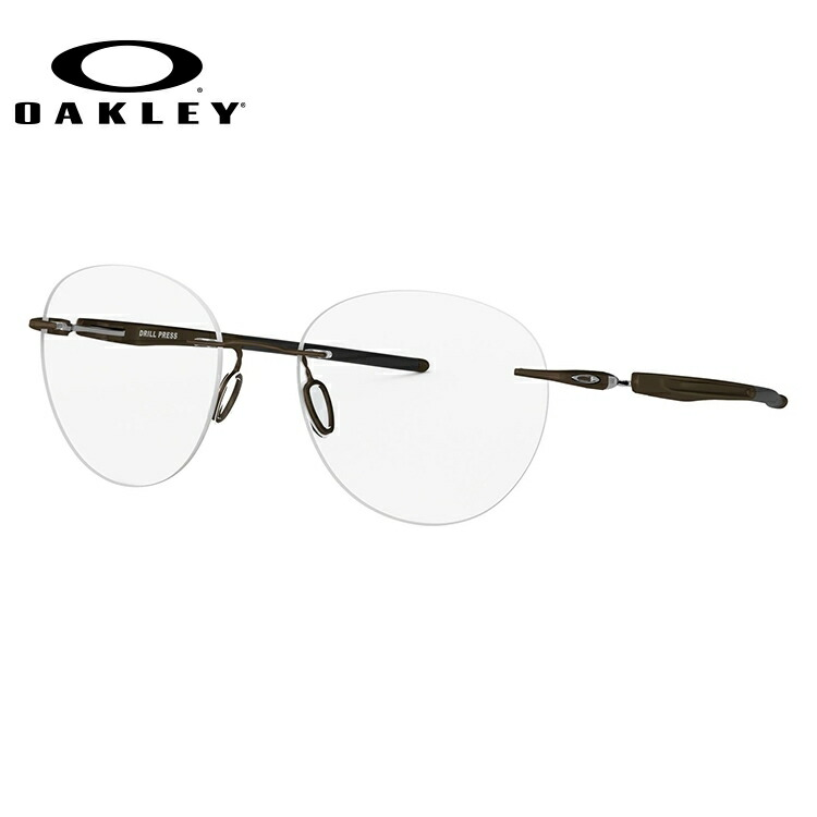 【選べる無料レンズ → PCレンズ・伊達レンズ・老眼鏡レンズ】 オークリー ドリルプレス メガネフレーム レギュラーフィット OAKLEY DRILL PRESS OX5143-0251 51サイズ 国内正規品 ボストン ユニセックス メンズ レディース