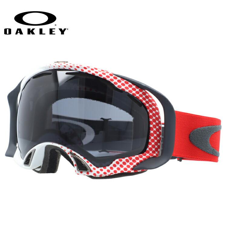【生産終了モデル】オークリー ゴーグル GOGGLE スノーゴーグル OAKLEY SPLICE スプライス 57-746 Half Tone Red-White / Dark Grey スキー スノーボード オークレー レギュラーフィット UVカット