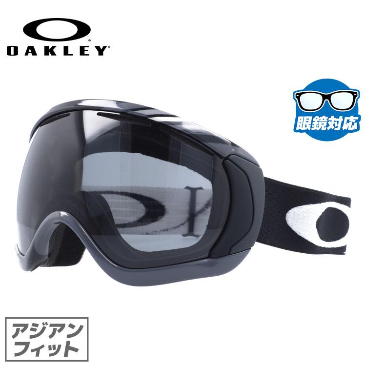 メガネ対応 スノーゴーグル オークリー ゴーグル GOGGLE OAKLEY CANOPY キャノピー 59-140J Slalom Gunmetal/Dark Grey アジアンフィット (ジャパンフィット) スキー スノーボード《2013-2014モデル》 オークレー UVカット