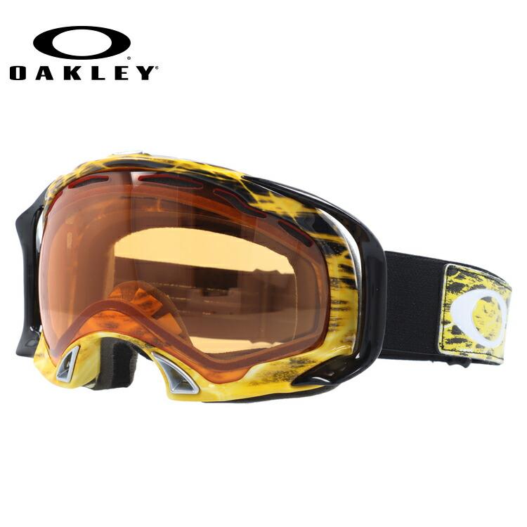 【訳あり】【生産終了モデル】オークリー ゴーグル GOGGLE スノーゴーグル OAKLEY SPLICE スプライス 59-297 Amped Bright Orange/Persimmon スキー スノーボード オークレー レギュラーフィット UVカット