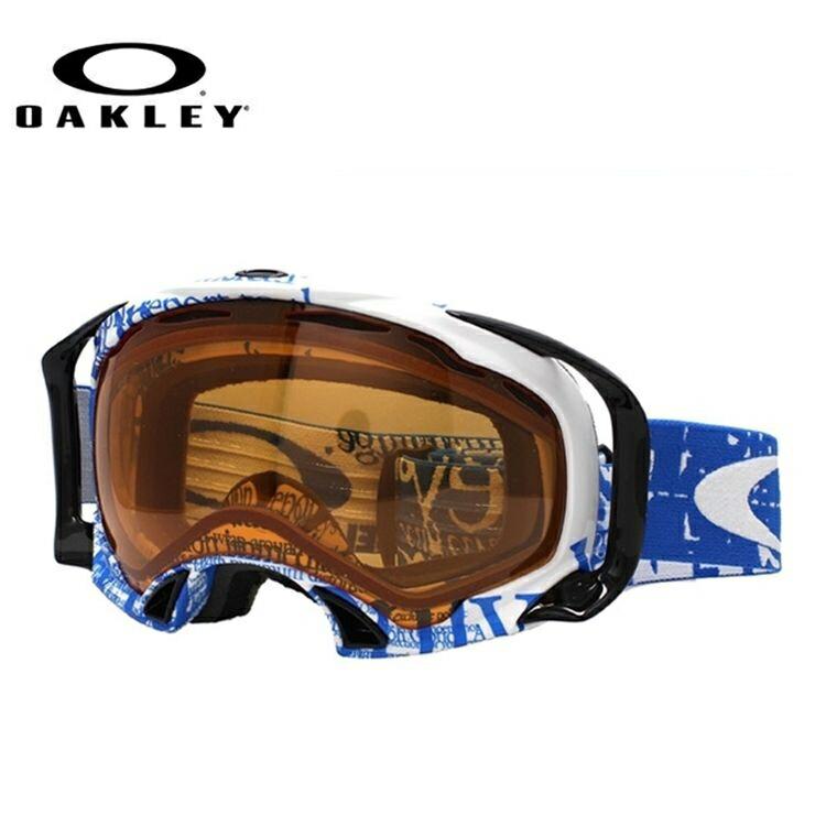 【生産終了モデル】オークリー ゴーグル GOGGLE スノーゴーグル OAKLEY SPLICE スプライス 59-291 Tagline Utility Blue/Persimmon スキー スノーボード オークレー レギュラーフィット UVカット