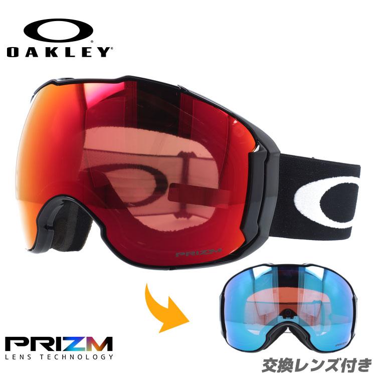 オークリー ゴーグル エアブレイク XL プリズム ミラーレンズ レギュラーフィット OAKLEY AIRBRAKE XL OO7071-02 ユニセックス メンズ レディース スキーゴーグル スノーボードゴーグル スノボ
